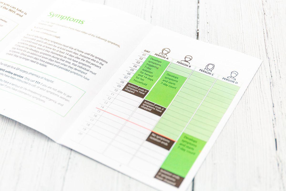 esempio di brochure, realizzata per cliente di brescia